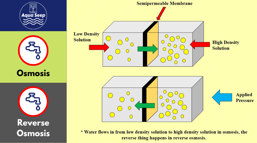 How do osmosis and reverse osmosis work?
