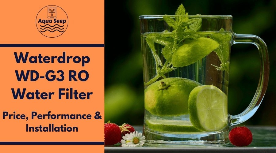 Waterdrop WD-G3 Reverse Osmosis RO water filter: Price, Performance & Installation