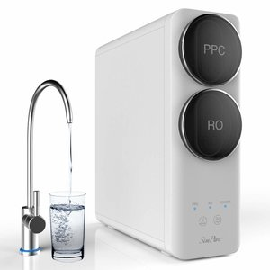 SimPure Q6 tankless reverse osmosis water filter system